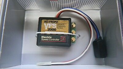 Vintage Kopropo Vfs 2000 Electronic Speed Control + Setting Adapter New In  Box