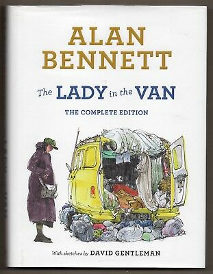 Alan Bennett - The Lady in the Van - The Complete Edition - Very Good Hardback