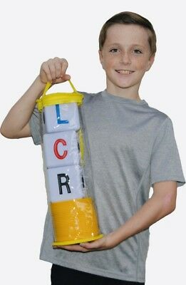 The Original Big Lcr® Left Center Right™ Dice Game - Zip Bag (Yellow)