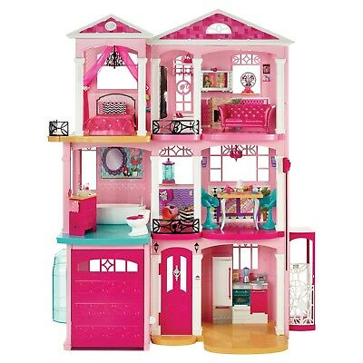 Barbie Dream house 7 Bedrooms w/ Garage & 70+ Accessories ~ DOLL HOUSE ~ NIB