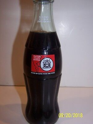 Home Of Gone With The Wind - Kiwains Club Of Jonesboro Coca Cola Bottle
