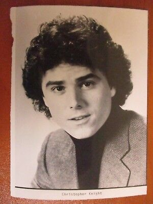 Vintage Glossy Press Photo Actor Christopher Knight Peter of The Brady Bunch
