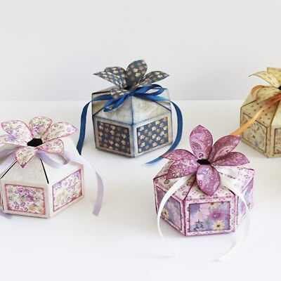 Candy box Cutting Dies Scrapbooking Embossing Card Making Paper Craft Die AB