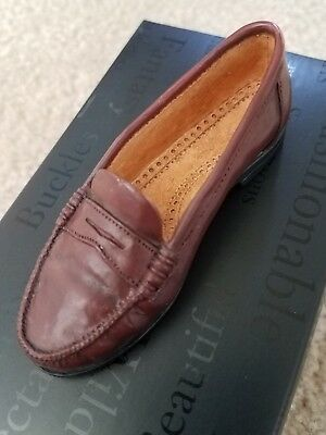 """Just The Right Shoe Ceramic by Raine Willitts, EUC, With Box, """"Penny Loafer"""""""