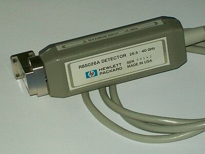 AGILENT HEWLETT PACKARD HP R85026A detector WR28 R band 26.5-40 ghz HP8757