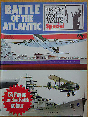 Battle of the Atlantic History of World Wars special '75 Sinking of the Bismarck