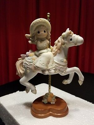 Precious Moments Reflect & Give Thanks 4001786 Premier Carousel New
