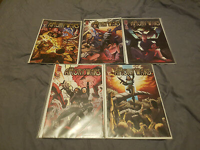 Amory Wars issues 1-5, complete volume 1