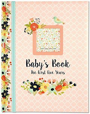 Baby's Book: The First Five Years Floral design