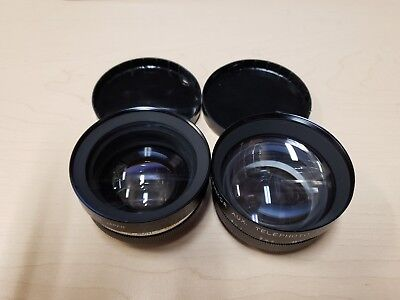 Yashikor Aux Wide Angle and Telephoto Lens Set