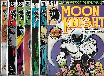 Moon Knight Lot Of 18 - #1 3 4 6 7 8 9 10 11 12 13 14 18 29 31 32 35 38 (Vg/fn)