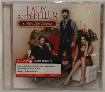 lady antebellum a merry little christmas cd 2010 target exclusive new sealed