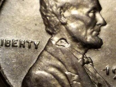 1943 US Lincoln Wheat Cent, Steel Penny, Higher Grade.. Error Coin.