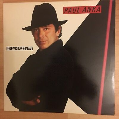 Paul Anka Walk A Fine Line Columbia Vinyl LP