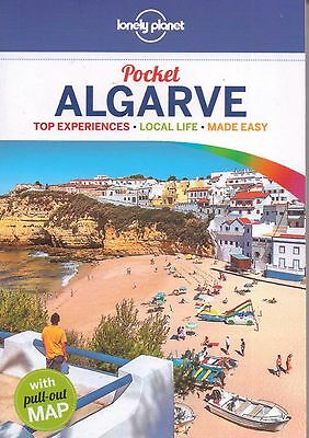 Algarve Lonely Planet Pocket Guide - New - Pull Out Map