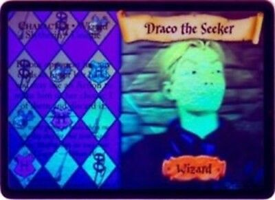 Harry Potter Chamber of Secrets Holo Card *Draco the Seeker* TCG CCG