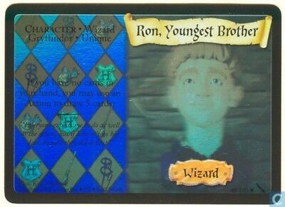Harry Potter Chamber of Secrets Holo Card *Ron Youngest Brother* TCG CCG