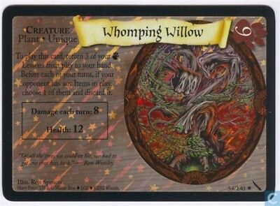 Harry Potter Chamber of Secrets Foil *Whomping Willow* TCG CCG