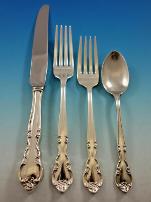 American Classic By Easterling Sterling Silver Regular Size Place Setting(s) 4pc