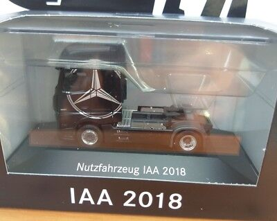 IAA 2018 Mercedes Actros GigaSpace Edition1 1:87 Limited Edition Sattelzug NEW