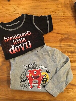 Halloween 18 Month Boys Jersey And Bodysuit Pre-owned