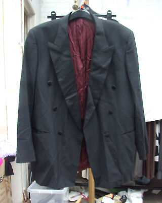 "Marks & Spencer Fabulous Tuxedo Style Evening Black Tie Jacket 44"" Chest Euro 56"