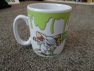 Warner Bros. Animaniacs Pinky and The Brain coffee mug