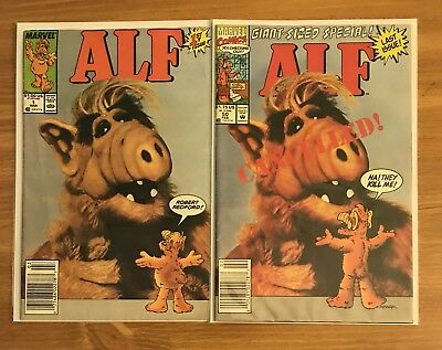 Alf 1 And 50 1st And Last Issues!! FN!! $1 Per Comic!! Check It Out!!