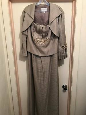 Mother of the Bride Bridal Dress Gown - Worn Once - Professionally Cleaned New