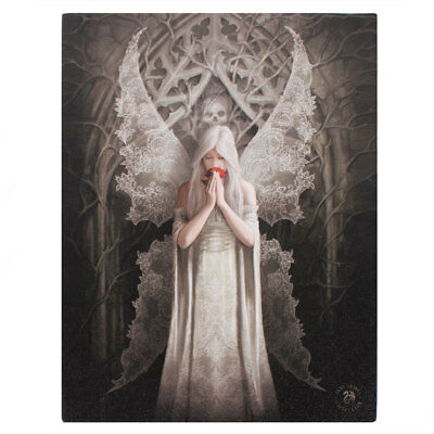 """NEW DESIGN Anne Stokes """"Only Love Remains"""" Large 40x30cm Canvas Wall Art"""