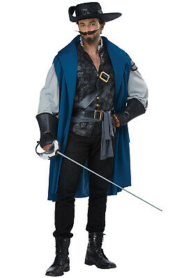 Deluxe Musketeer Three Musketeers Medeival Renaissance Faire Adult Costume