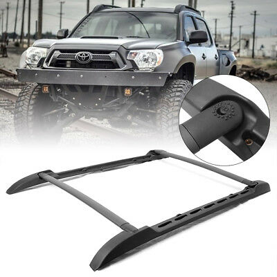 OE Style Roof Top Rack Side Rails Bar Set for Toyota Tacoma Double Cab 2005-2018