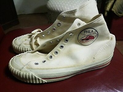 Vintage  Sneakers Grips Philadelphia Phillies  1950's Canvas Baseball Rare