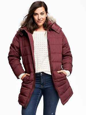 NWT Old Navy Frost Free Plus-Size Long Jacket 1X Plus