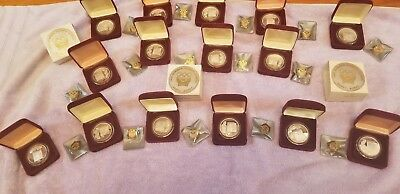 Silver Olympic Coins, 1988 Seoul, Korea: very rare set!!!
