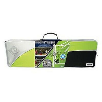 Franklin Badminton/Volleyball Combo W/ Carry Bag (50601)