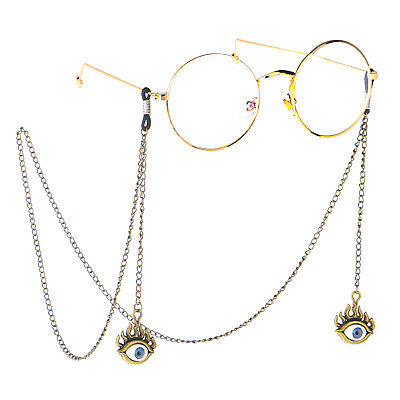 Retro Bronze EYE Eyeglass Cord Glasses Eyewear Spectacles Chain Holder GL197