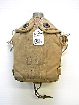 Vintage World War II US Army Canteen (All Aluminum)