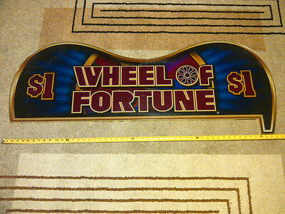 Large Wheel of Fortune Las Vegas Casino Sign
