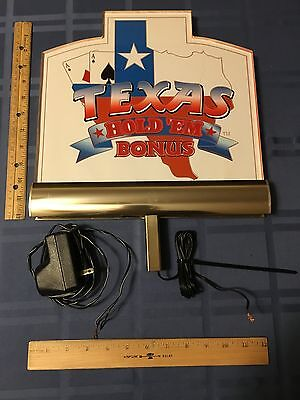 Las Vegas Texas Hold 'Em Casino Display Item
