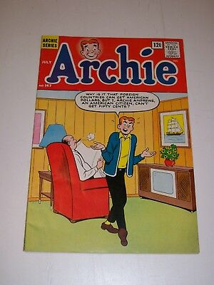 Archie #147 Fine+ 1964 Nice cover gloss Solid book