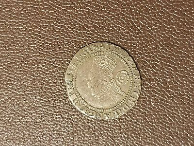 Great Britain 1580 3d Maundy Elizabeth I; VF; Rare and Nice