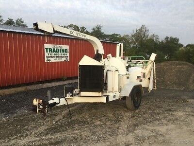 "2010 Altec 1217 12"" Towable Wood Chipper w/ Kubota Engine!"