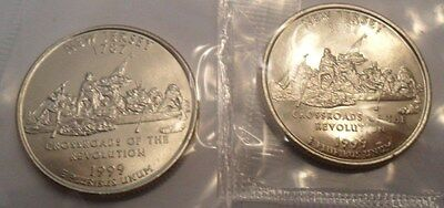 1999 P & D New Jersey Quarter Coin Set (2 Coins) *MINT CELLO*  **FREE SHIPPING**