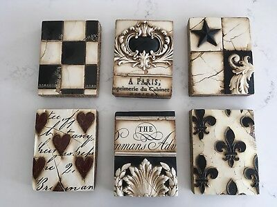 French Crest - Sid Dickens Memory Block (Top Middle)