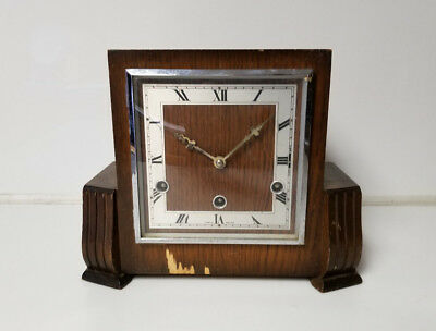 Vintage Mantel Clock Perivale Made in England