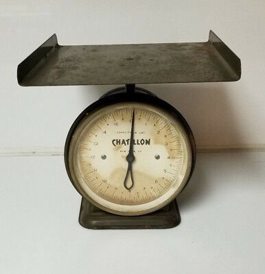 Vintage Scale Chatillon 16lb Grocery