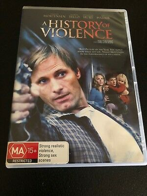 A History Of Violence (DVD, 2013) *WilliamHurt, Ed Harris, Maria Bello*