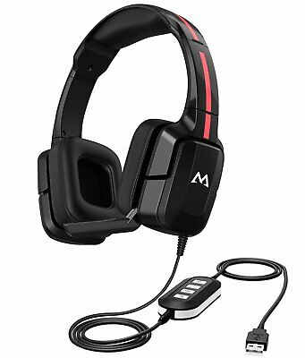 Mpow EG2 3.5mm Gaming Headset Mic Headphones Stereo for PS3 PS4 Xbox ONE 360 PC