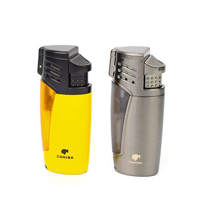 Cohiba Tobacco Cigar Lighters Windproof Lighters Puncher Lighters Smoking Tool
